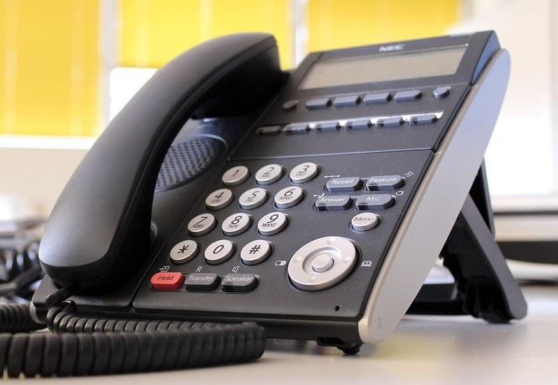 オフィス受話器