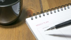 日記を毎日つけている