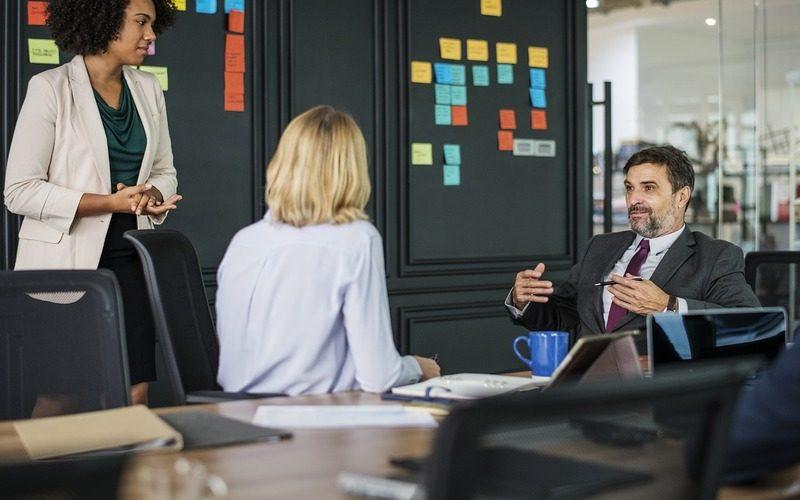 ビジネス英会話のシーン