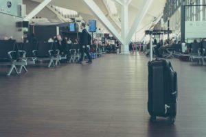 ビジネスでの空港のシーン