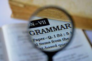 英語の文法、グラマー