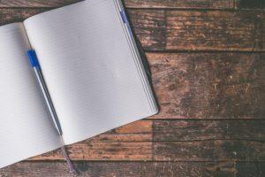 ディクテーションのノート
